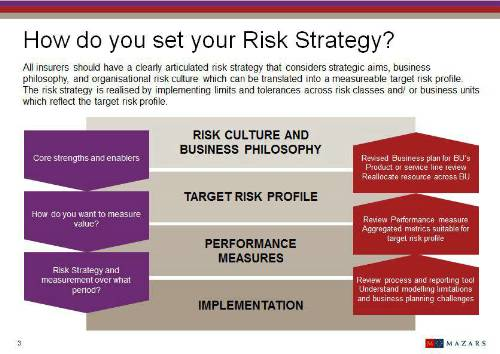 How do you set risk strategy?
